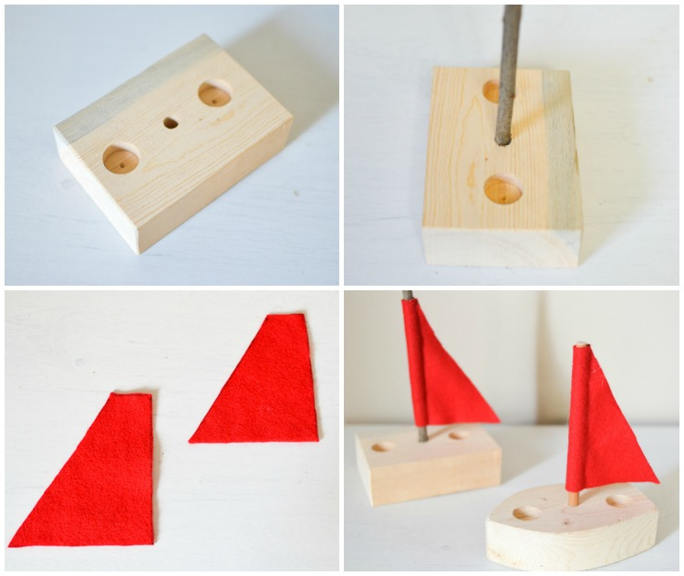 DIY Simple Wooden Toy Boat: Woodworking for Kids ...
