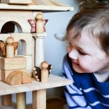 Three Wooden Fairy Dolls: Excellent Waldorf toys!