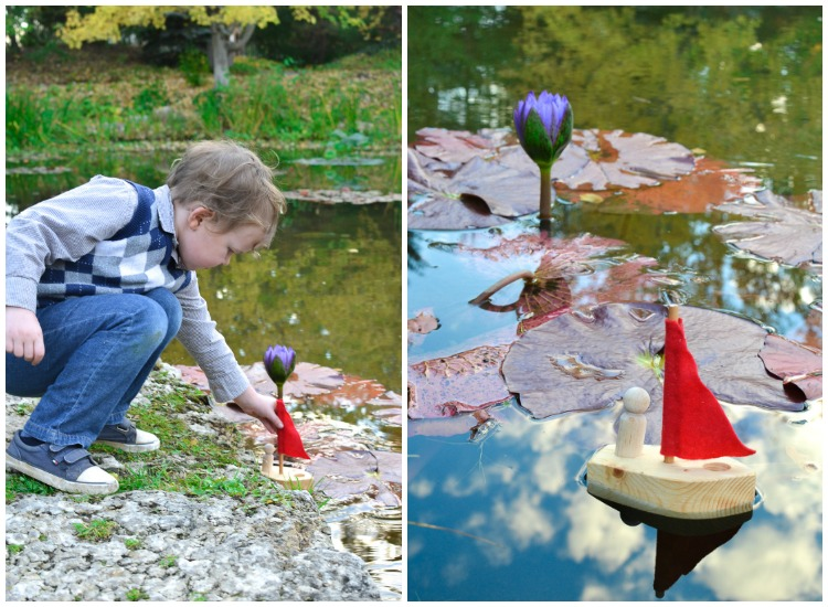 DIY Simple Toy Boat: For kids who want to try their first woodworking project or make a present for a sibling!