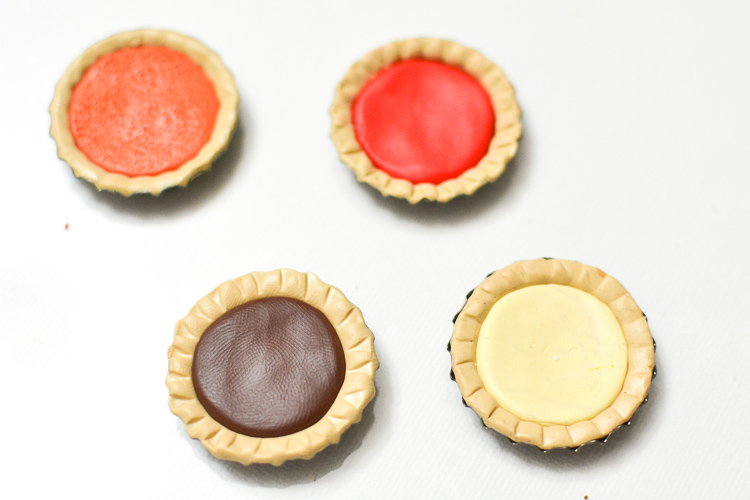 Make Miniature Pies from Polymer Clay