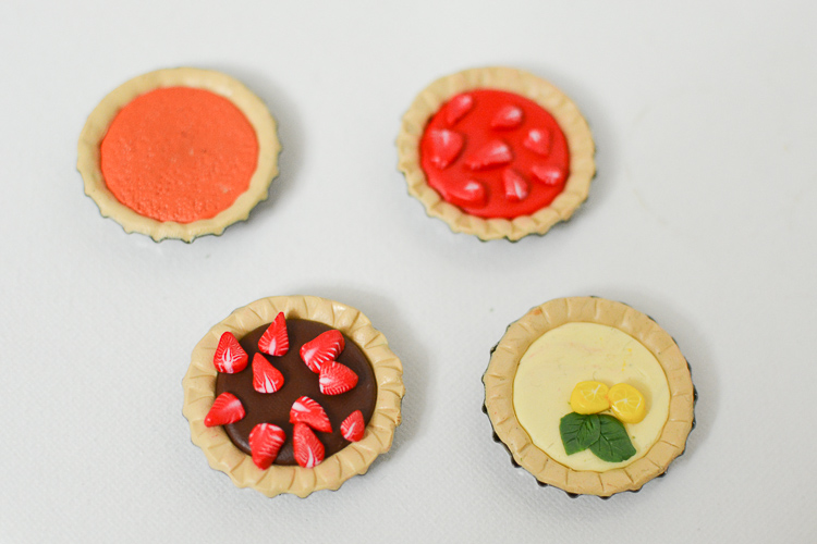 Make Fruit Tarts from Polymer Clay
