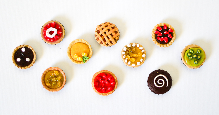 Make Miniature Pies With Kids Bottle Caps Amp Polymer Clay