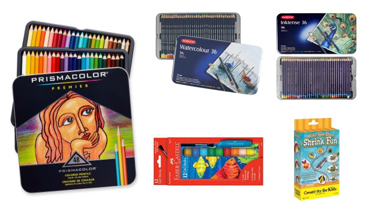 Unique gift ideas for kids who like drawing.