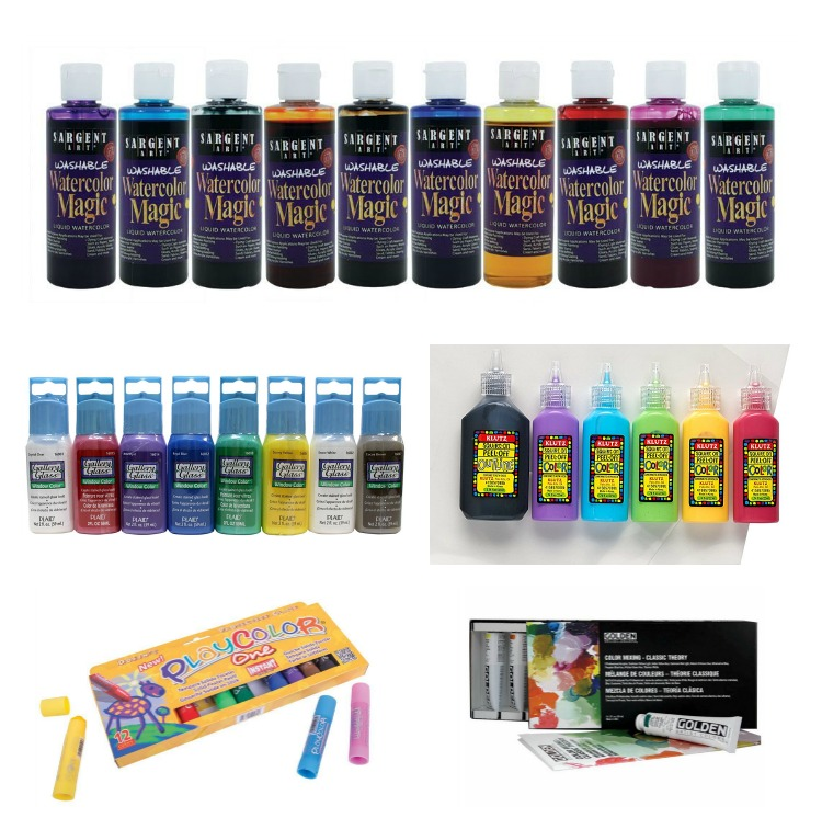 Unique gift ideas for kids who like painting.