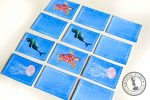 Sea Animals Printable Memory Matching Game for Kids