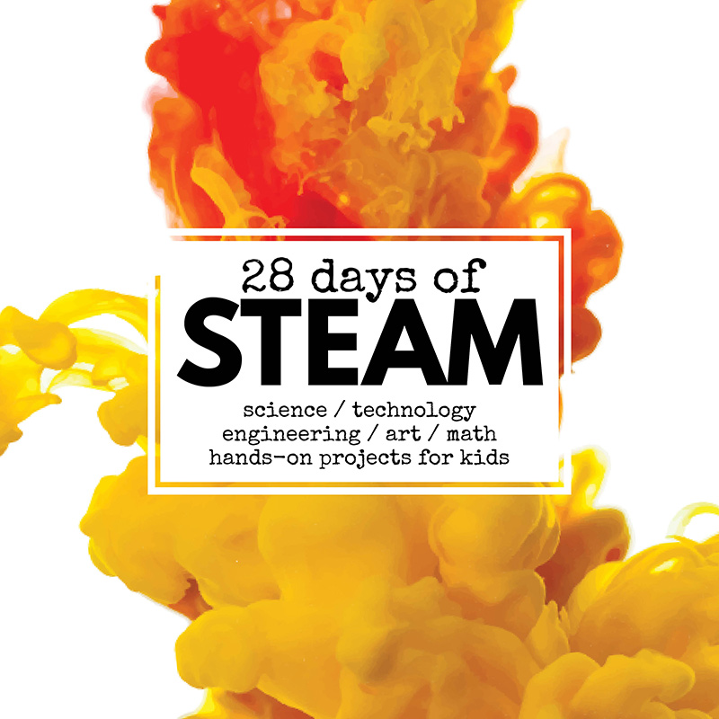 28 Days of STEAM projects