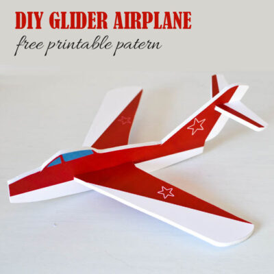 diy-how-to-make-a-foam-glider-airplane-free-pattern