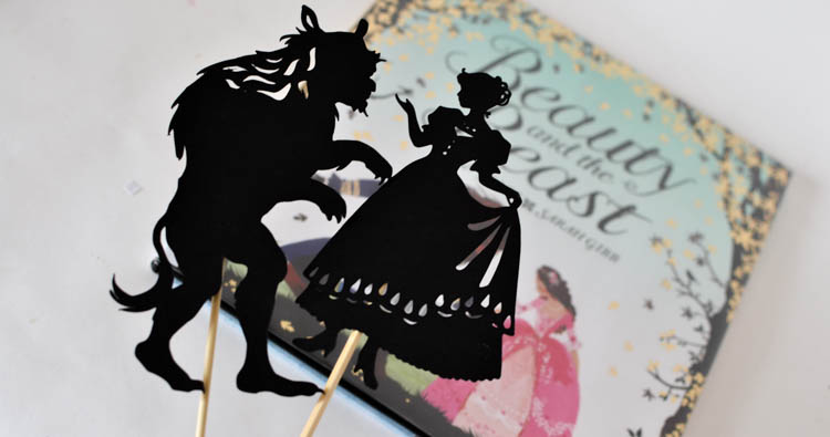 Beauty and the Beast Shadow Puppet Set