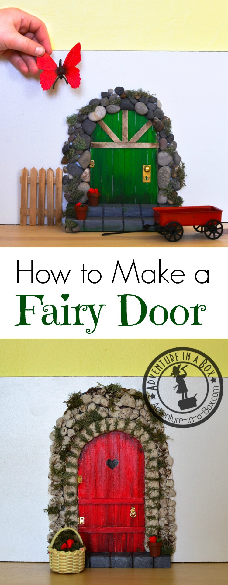 If you make fairy doors, we'd be delighted to see them! You can post ...