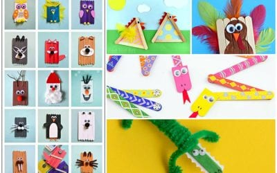 25 Craft Stick Projects for Kids