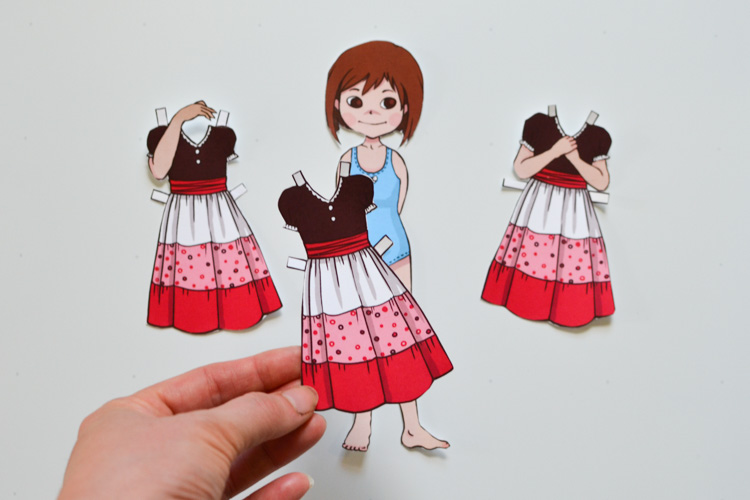 Emotion Dress Up Doll Girl Edition Adventure In A Box