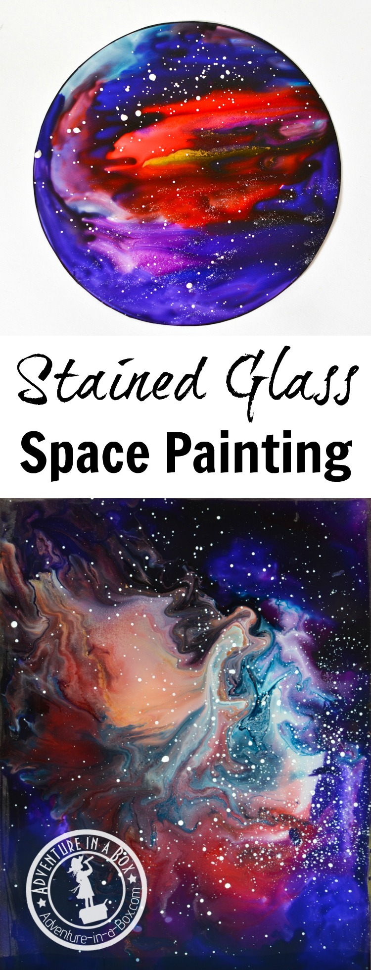 Stained Glass Space Painting Adventure In A Box